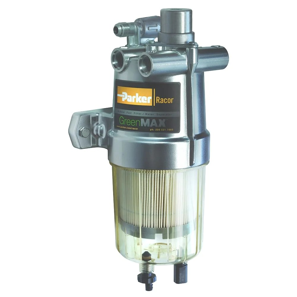 medium resolution of eff fuel filter water separator with integrated fuel heater racor dtech canada inc
