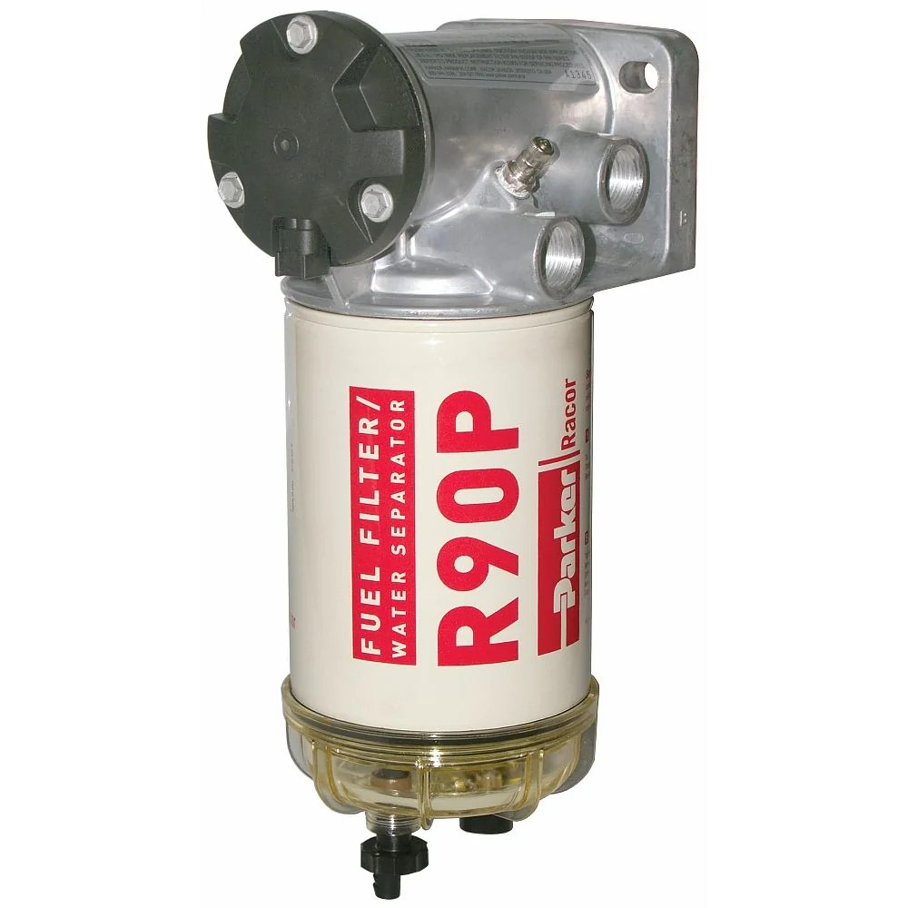 medium resolution of eff fuel filter water separator with integrated priming pump racor dtech canada inc
