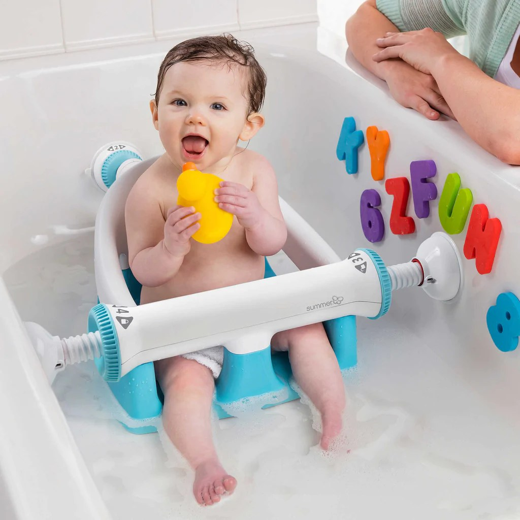 NEW Adjustable Sturdy Infant Baby Toddler Bath Tub Ring ...