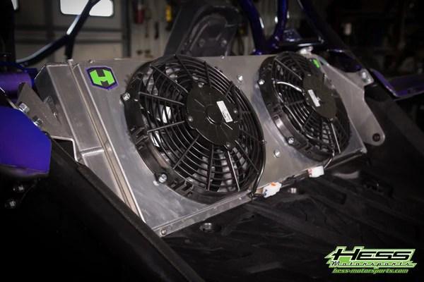 Radiator Relocation Kit Yamaha YXZ1000RSS – Hess Motorsports