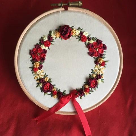 Embroidery Kits Tagged Silk Ribbon Embroidery Kits