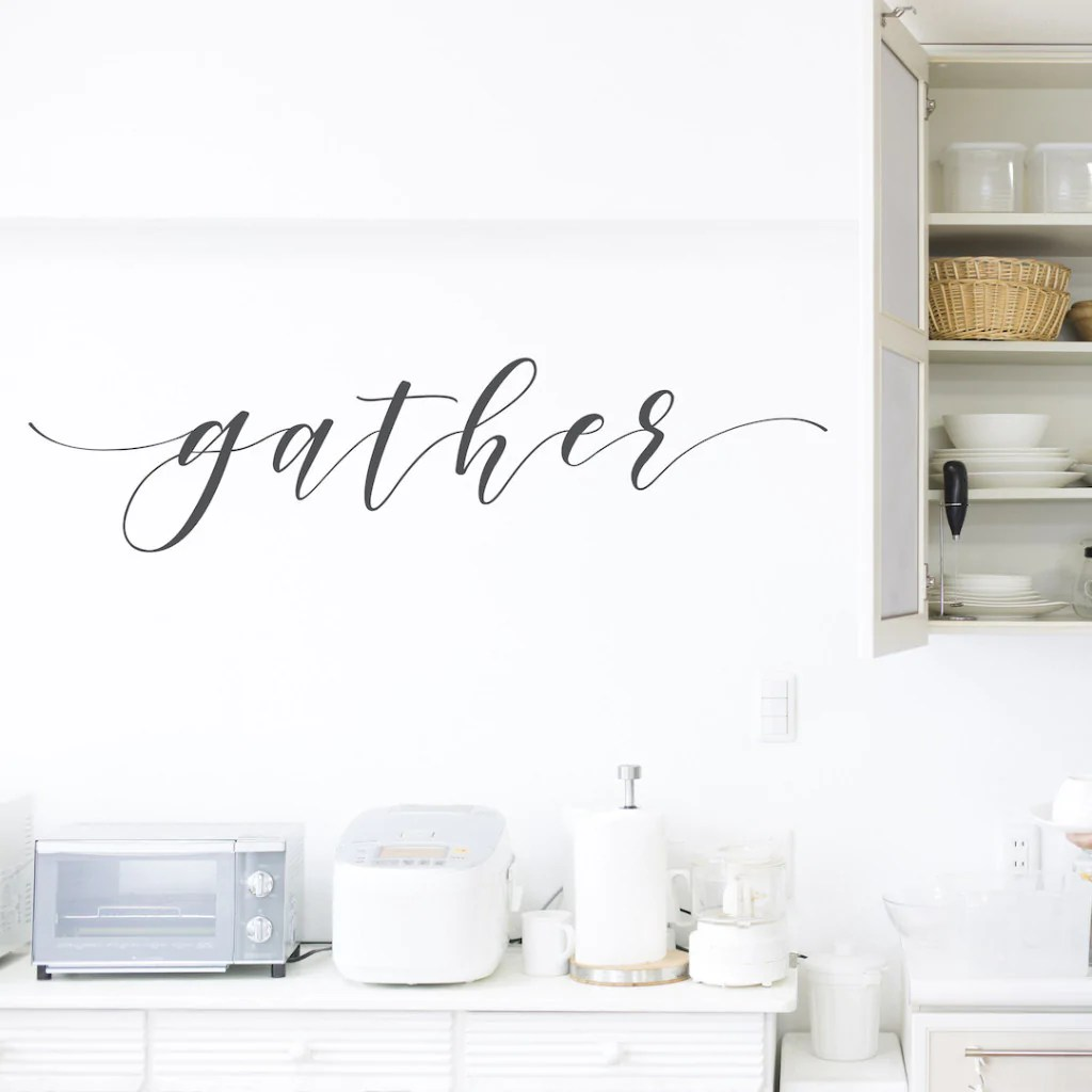 gather wall decals