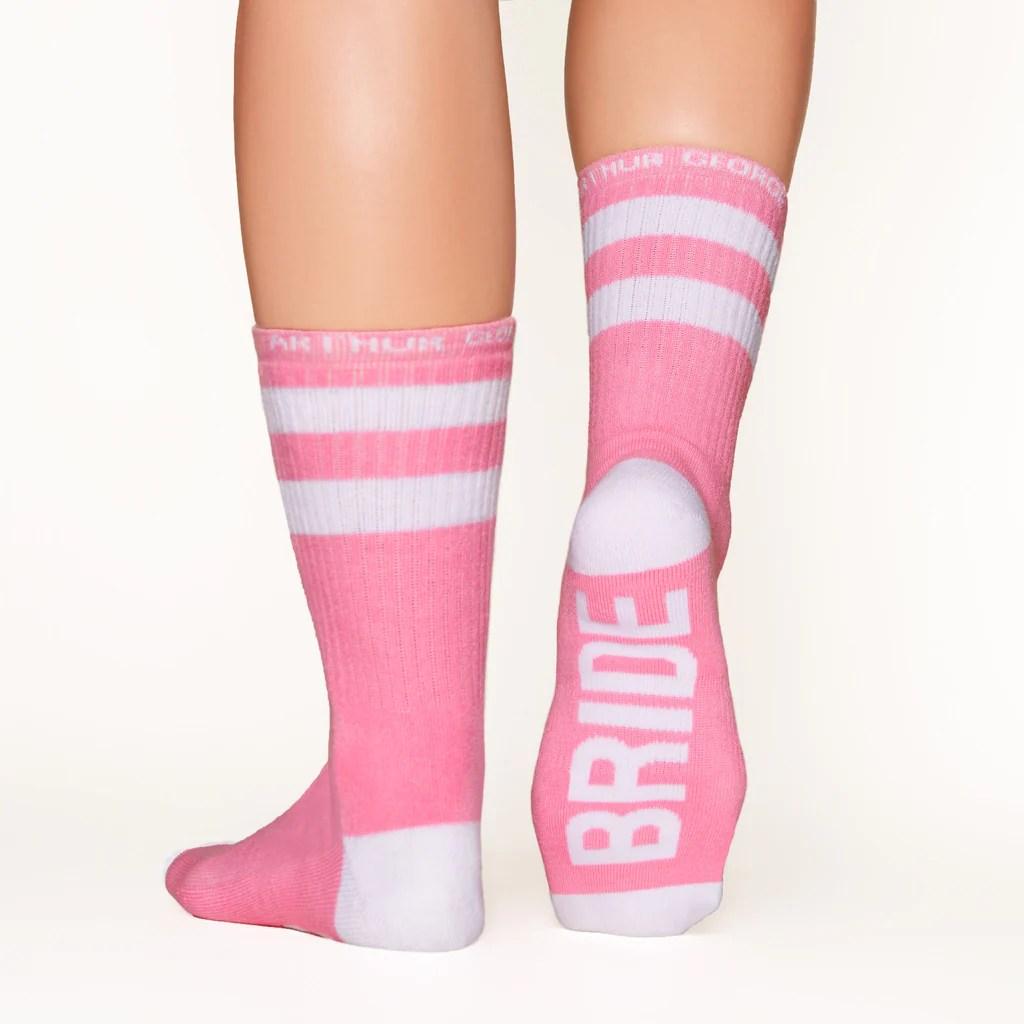 Bride Socks  Cool Arthur George Wedding Socks by Rob Kardashian