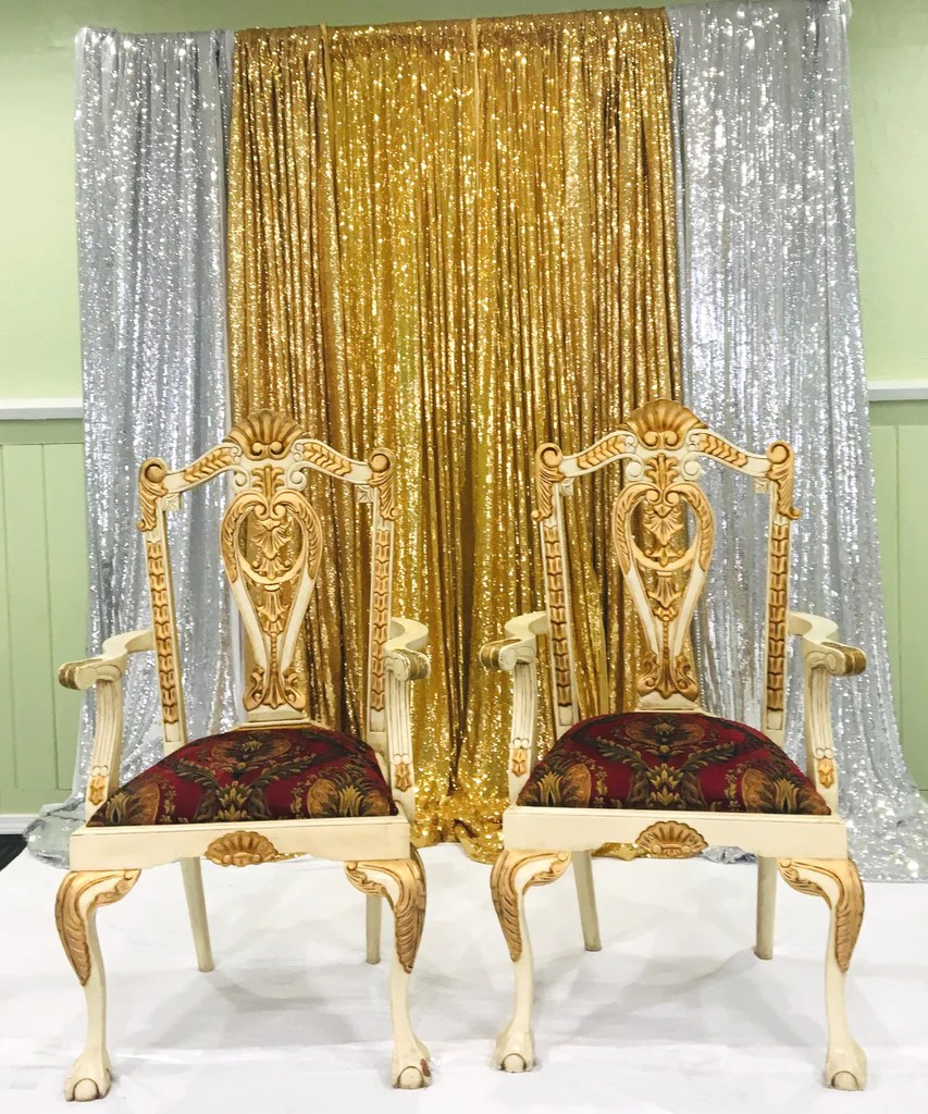 Chair Rental Atlanta His And Hers King Queen Chair Bridal Party Chairs Rental Only