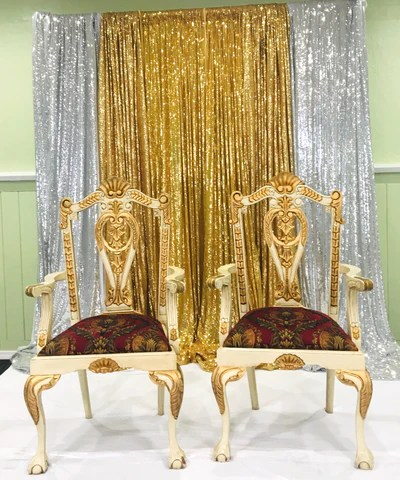 how to make a queen throne chair mid century wood his and hers king bridal party chairs rental only