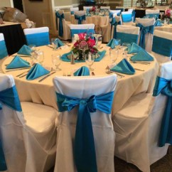 Tablecloths And Chair Covers For Rent Office Cover Rental Banquet Universal Self Tie Call Make Me