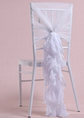 chair accessories for weddings bentwood office chiffon bamboo sash wedding decoration cover sashes 10 pieces make me elegant