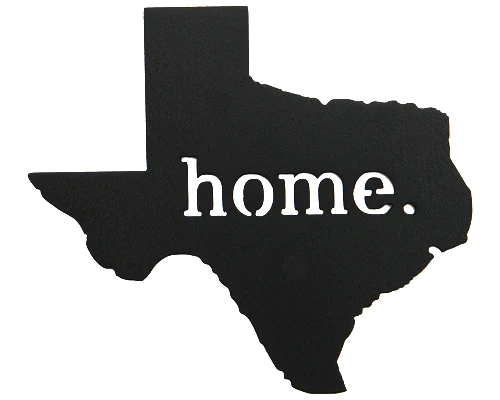 State Of Texas Home Decor