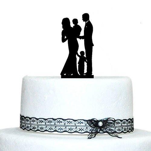 Engagement  Wedding Cake TopperFamily Children Son