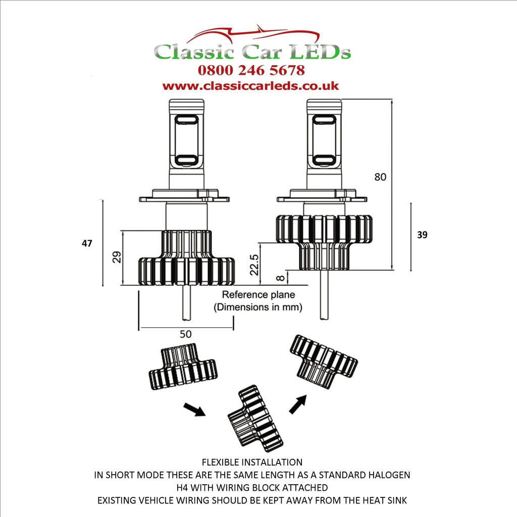 h7 bulb wiring diagram mg tf 1500 latest led motorcycle headlight h4 z es chips 4600 lumen
