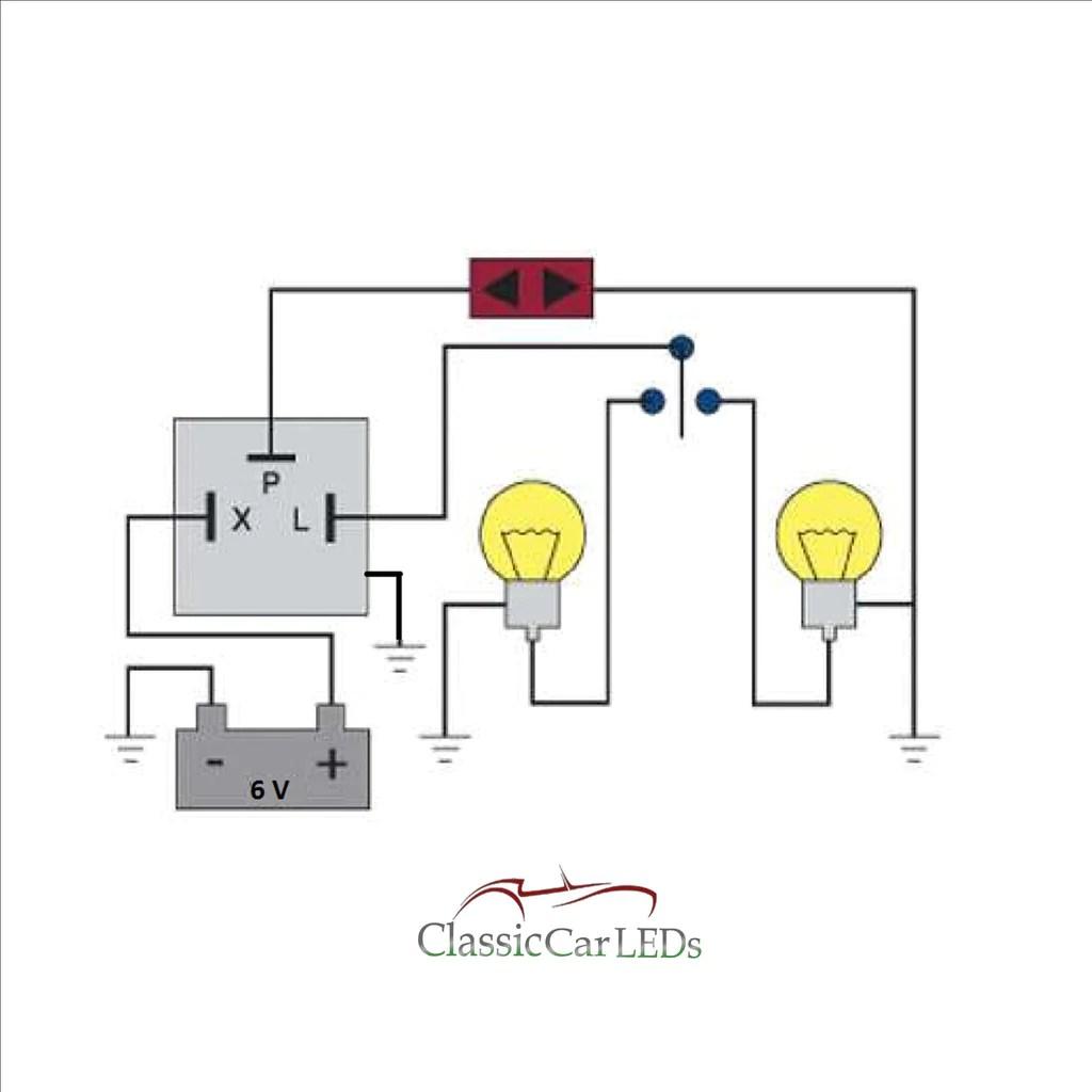 medium resolution of universal flasher wiring diagram
