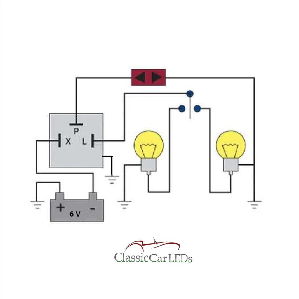 medium resolution of 6 volt flasher wiring diagram wiring diagram schematics 6 volt positive ground wiring 6 volt flasher wiring