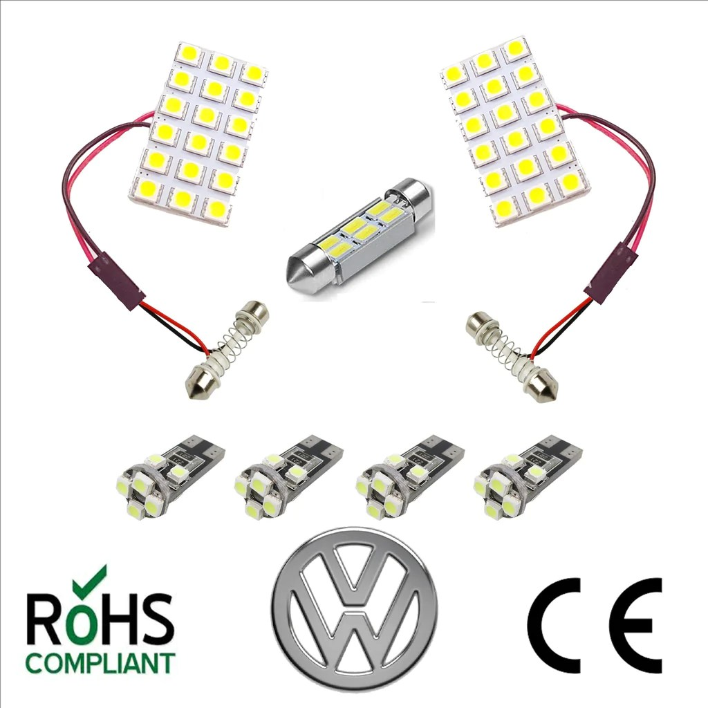 medium resolution of vw t5 t5 1 t6 transporter ultra bright 7 x led interior lighting interior light wiring kit uk automotive products ltd