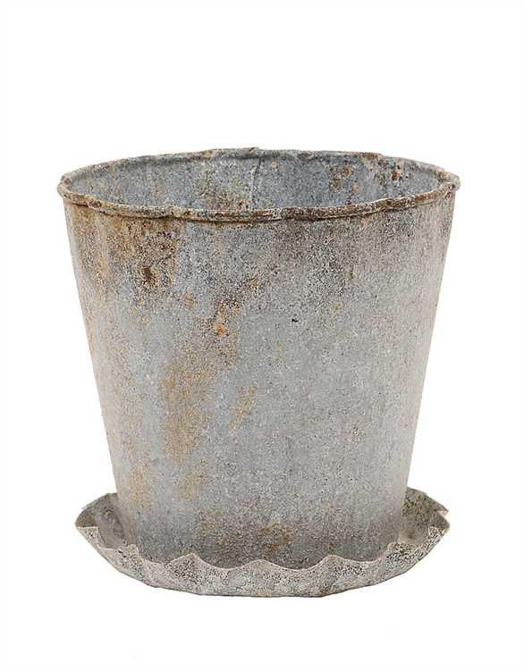 Zinc Flower Pot