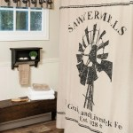 Sawyer Mill Windmill Shower Curtain And Valance Set Allysons Place