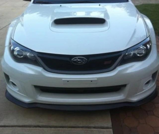 Ht Autos Front Lip Splitter Subaru Wrx 11  14