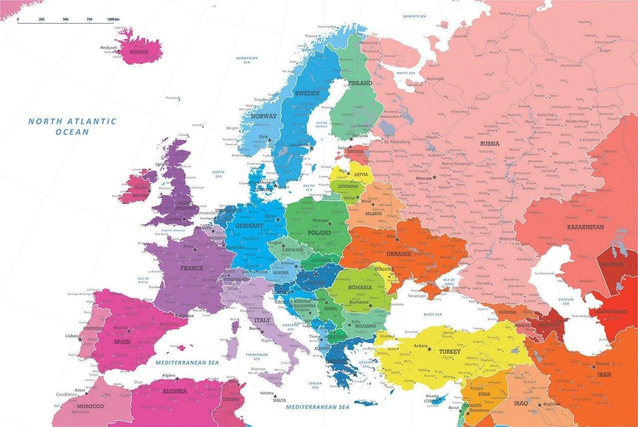 diy colorful europe push
