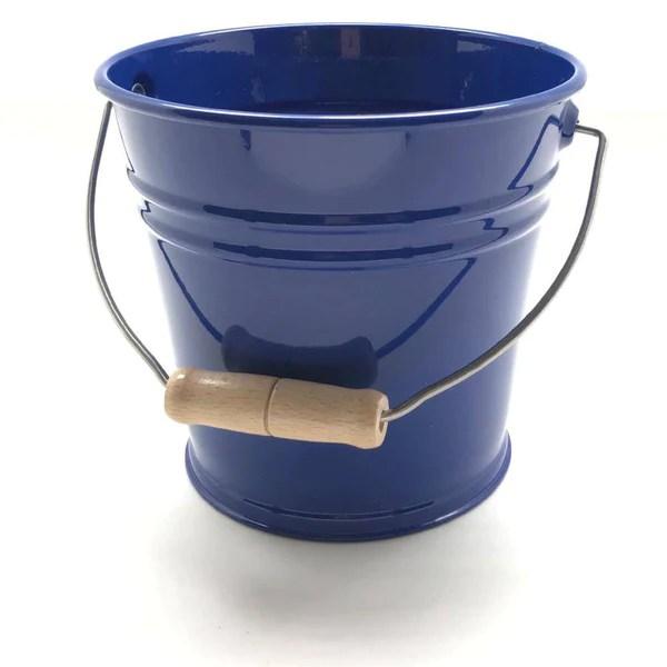 kids enamel metal bucket