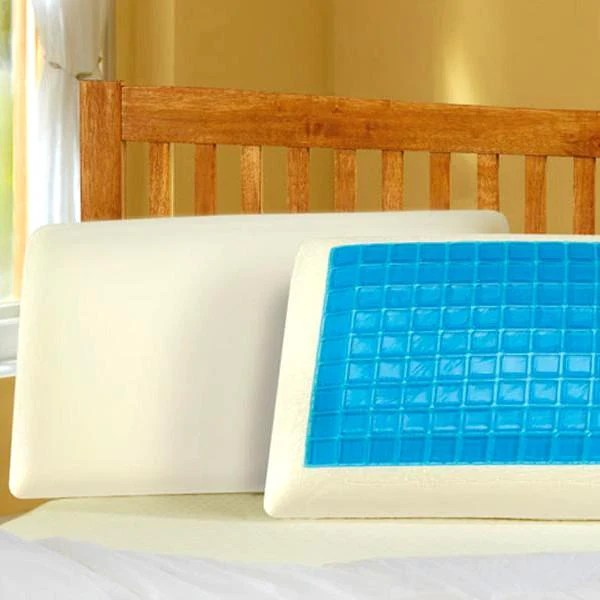 nordic arctic cool memory foam gel pillow