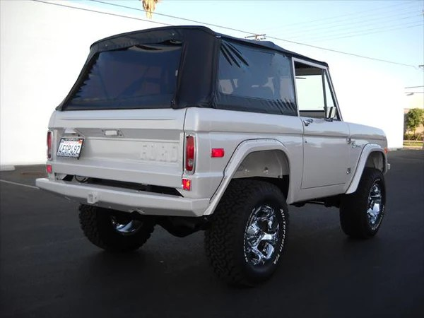 1966 1977 Ford Bronco Rampage Complete Soft Top Kit With