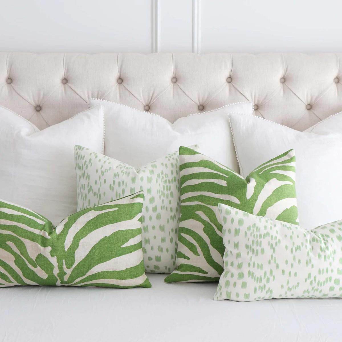 green pillows green pillow covers