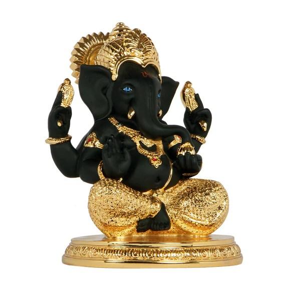 Gold Plated Ganesha Idol Online  Buy Ganesha Gold Plated