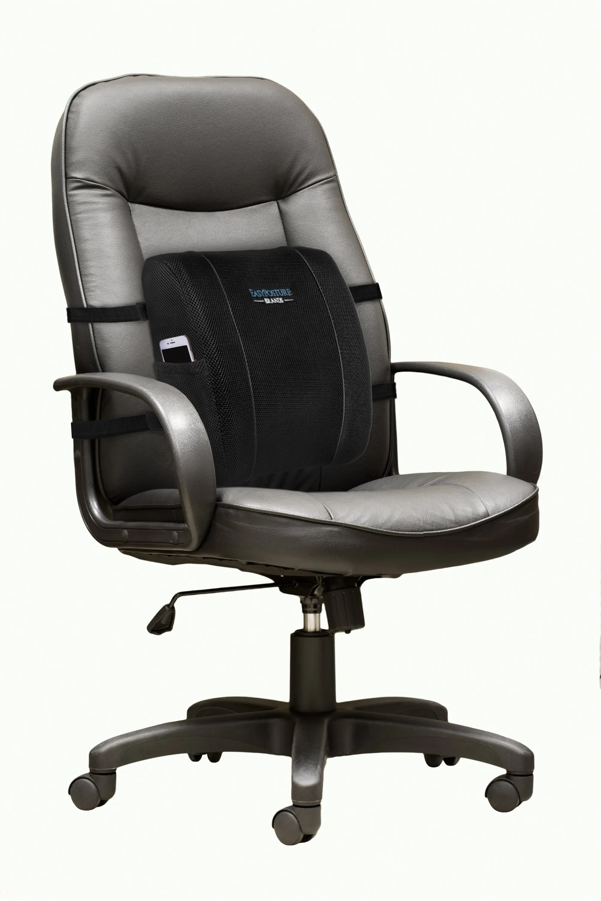 posture support chairs office adec performer chair parts memory foam lumbar cushion easy brands
