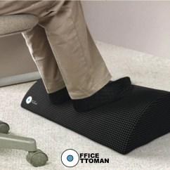 Posture Pack Seat Wedge Ergonomic Chair Parts Office Ottoman Foot Rest Under Desk Non Slip Foam Cushion