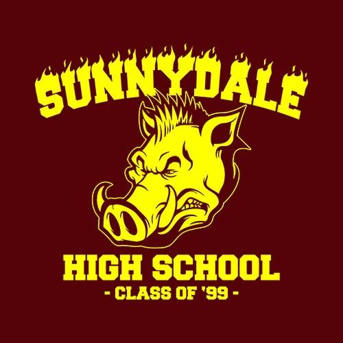 Sunnydale High School TShirt  FiveFingerTees