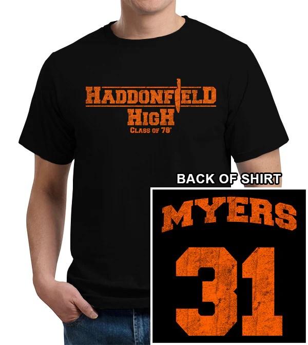 Haddonfield High School TShirt  FiveFingerTees
