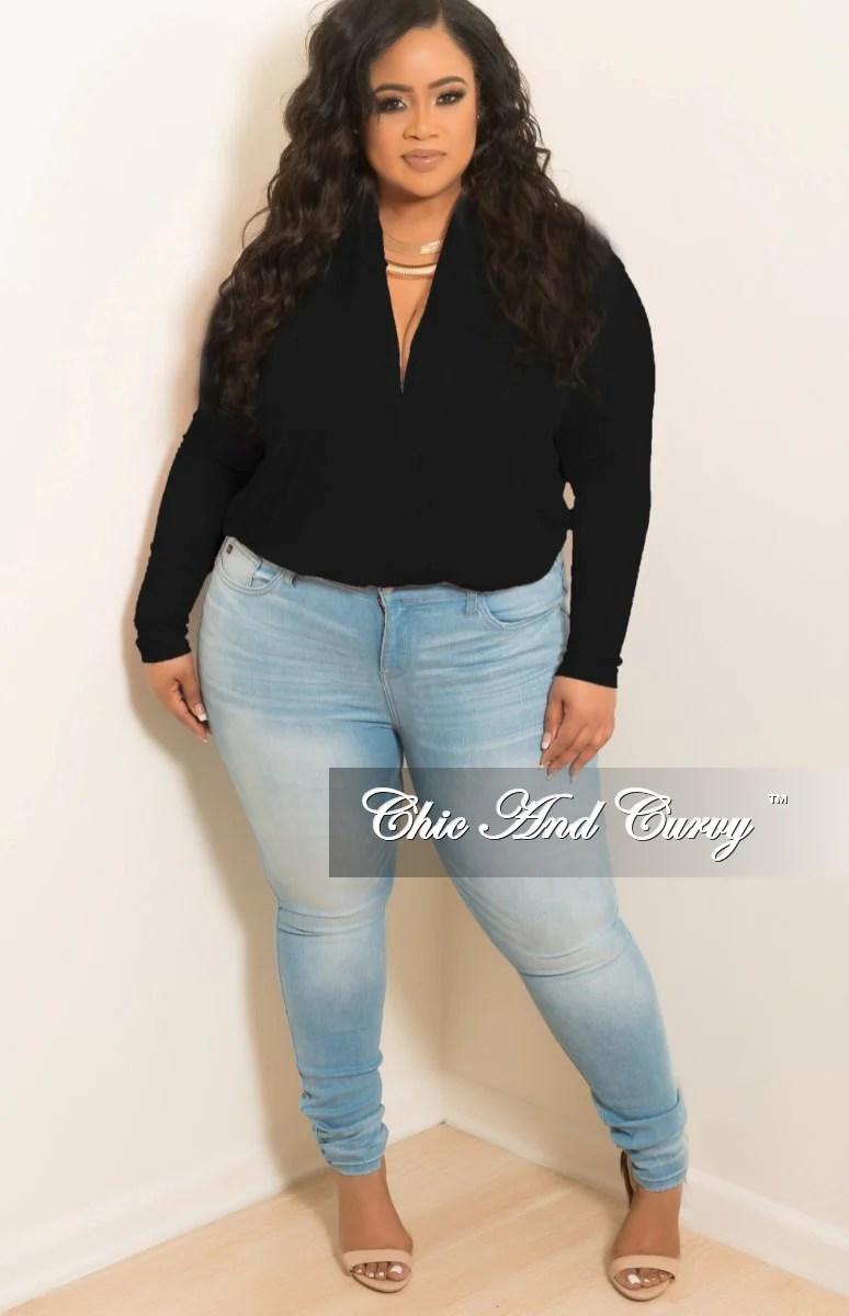 New Plus Size Jeans In Light Denim  Chic And Curvy
