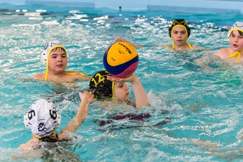 Minipolo mixte de 11  12 ans sans contact  Club de waterpolo les Hydres de Qubec