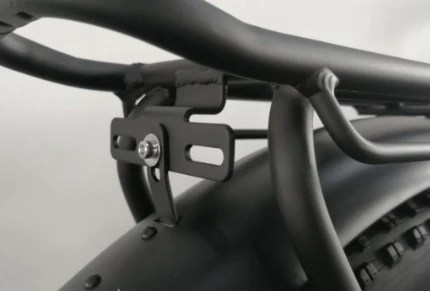 rear rack and fenders for ecotric 26