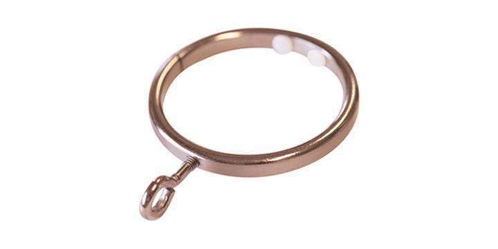 Jones Strand 35mm Rose Gold Curtain Pole Ring Pack Size 6