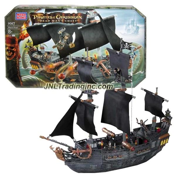 Mega Bloks Pirates of the Caribbean  Dead Mans Chest Series Set 101  JNL Trading