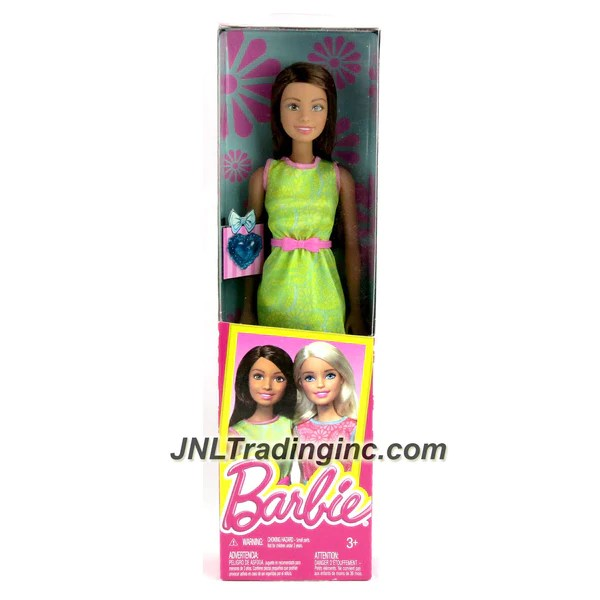Barbie Friends Series 12 Doll Teresa Dgx63 In Green Dress With Pi Jnl Trading