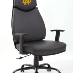 Notre Dame Chair Cuddler Canada Fighting Irish Cornhole Boards Bags Proline Image College Executive Office Tailgating