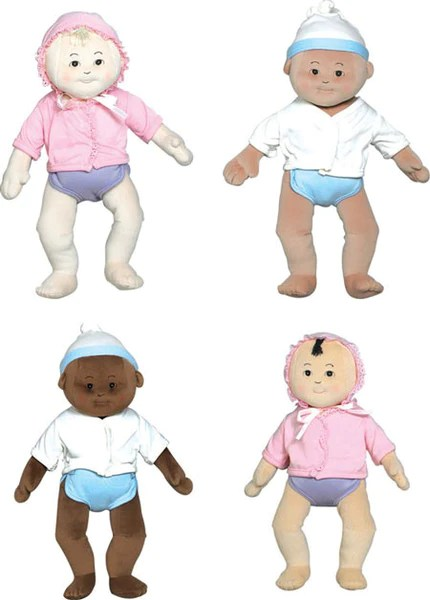 Anatomically Correct - Soft Doll Babies (Set of ALL Four ...