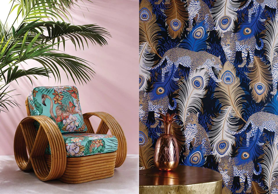 Matthew Williamson Cubana Fabrics Amp Wallpapers Jane