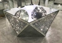 Exclusive Diamond Crush Coffee Table  House of Sparkles