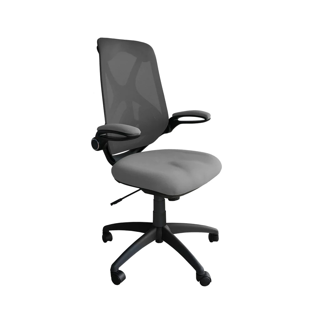 ergonomic chair levers wood folding table and chairs set ergon mesh back with adjustable lumbar support ofx office