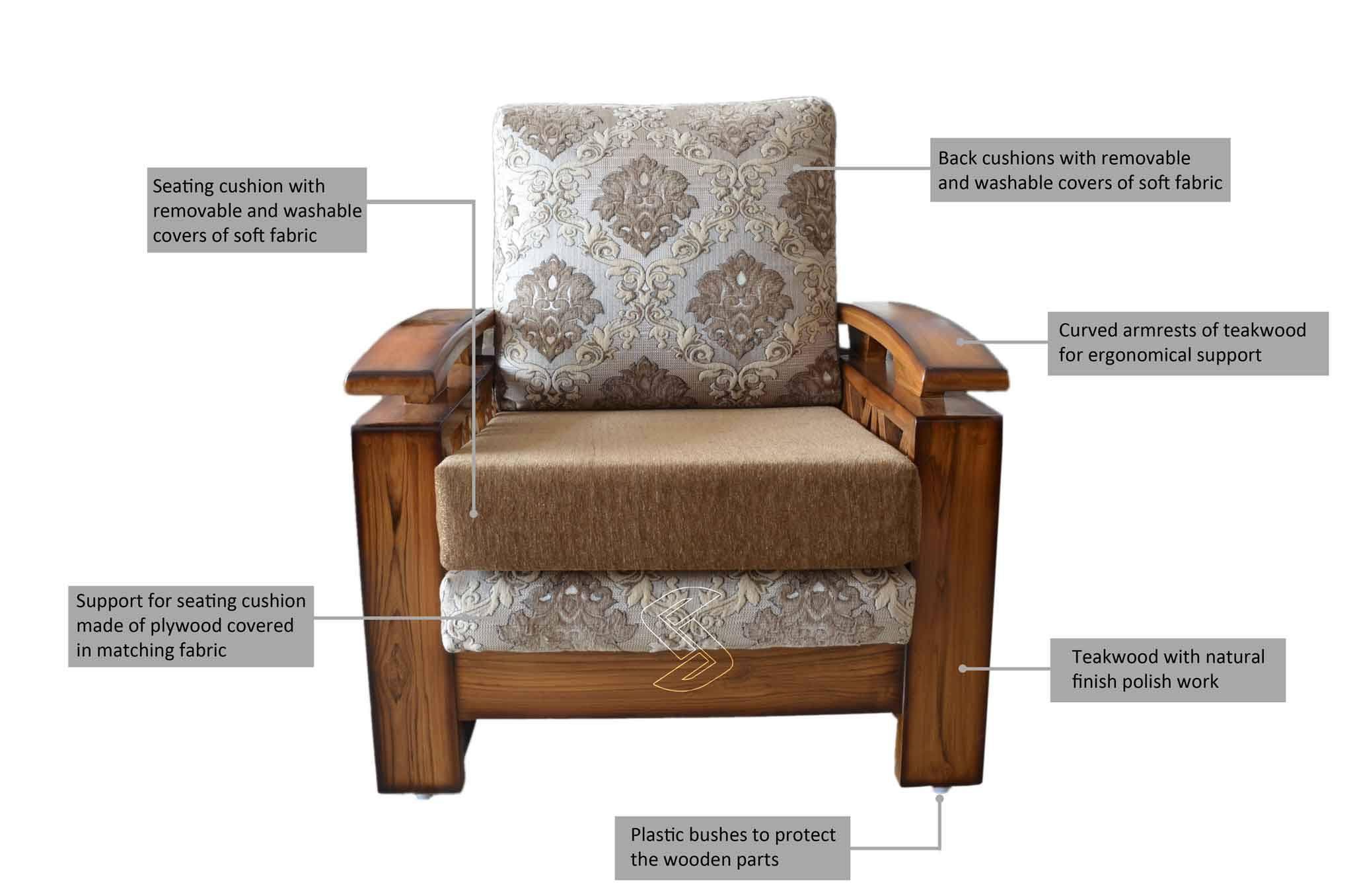sofa shampoo wash hyderabad antique chippendale price crisso teakwood set sets online in