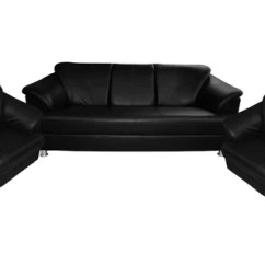 Sofa Sets At Low Price In Hyderabad Circa Chaise Recliners Online Great Prices Sanfurn Fenton Leatherette 3 1 Set Black