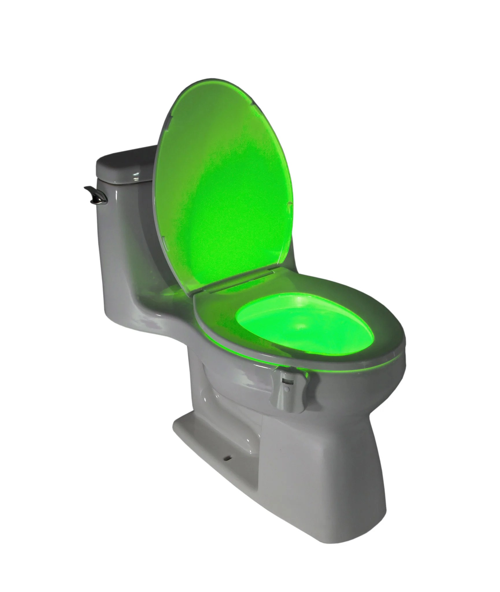 glowbowl motion activated toilet