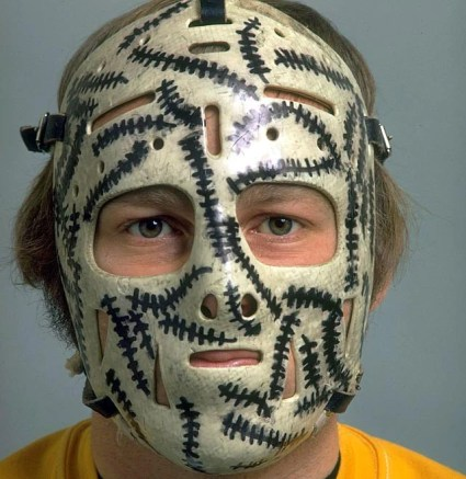 Image result for gerry cheevers mask