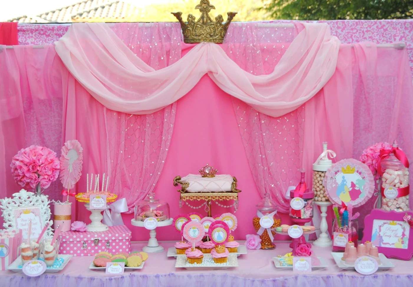 Princesses Party - Complete- Girls Birthday