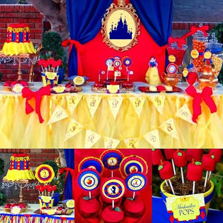 snow white party princess party princess birthday party complete girl birthday party decorations ideas
