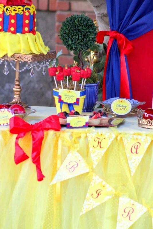 Princess Party Banner Princess Birthday Party