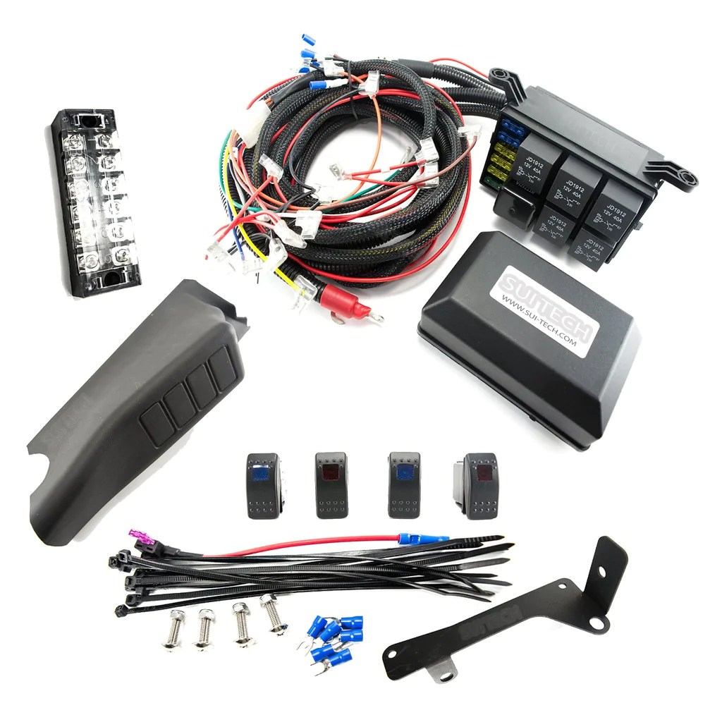 small resolution of jeep wrangler tj dash wiring harness