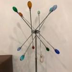 Pair Of Mid Century Modern Chrome Sputnik Floor Lamps 1 Of A Kind Nj